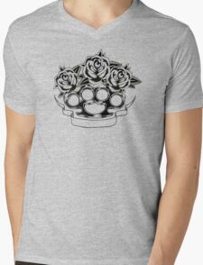 Smell the Roses Mens V-Neck T-Shirt