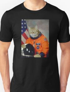 Astronaut Cat Kitten Funny Space Unisex T-Shirt