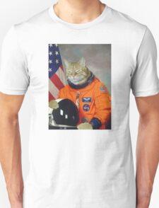 Astronaut Cat Kitten Funny Space T-Shirt