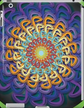 Infinite Path Martial Arts Mandala 5 by Infinite Path  Creations
