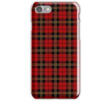 Clan Brodie Red Tartan iPhone Case/Skin