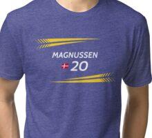 F1 2016 - #20 Magnussen [black version] Tri-blend T-Shirt