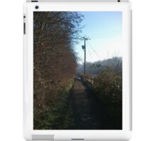 Country Paths, Alwoodley iPad Case/Skin