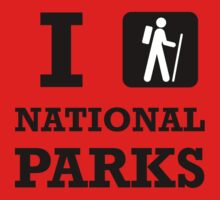 Hike National Parks Baby Tee