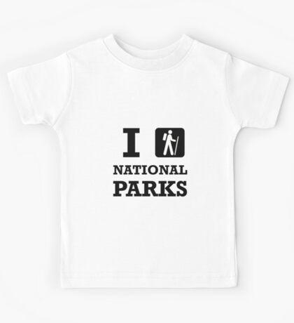 Hike National Parks Kids Tee