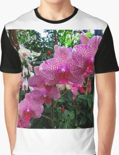 Pink Orchid #1 Graphic T-Shirt