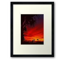 Saturated Colors Framed Print