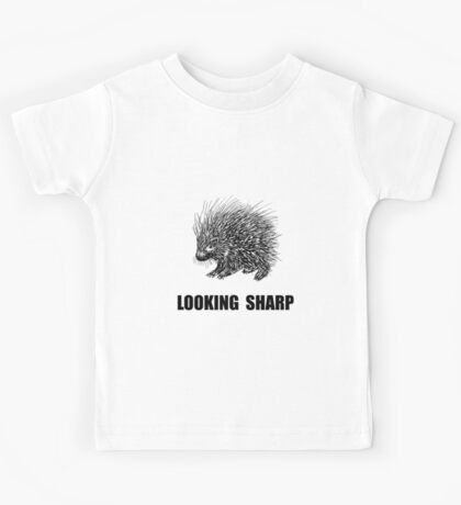 Sharp Porcupine Kids Tee
