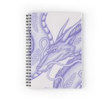 Spirited Away Haku Spiral Notebook
