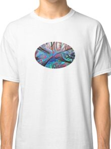 Swirling trees Classic T-Shirt