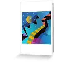 Stairway to Stars Greeting Card