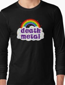 Death Metal Rainbow Long Sleeve T-Shirt