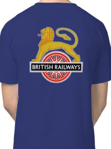 BRITISH RAILWAYS, BR, SIGN, First logo, British Railways, 'Cycling Lion' Classic T-Shirt