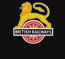 BRITISH RAILWAYS, SIGN, First logo, British Railways, 'Cycling Lion' Unisex T-Shirt