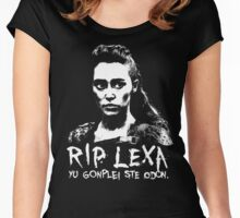RIP Lexa Women's Fitted Scoop T-Shirt