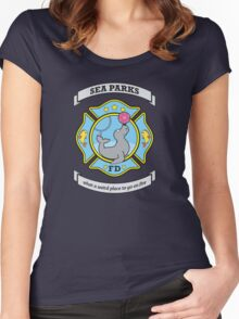 Sea Parks Fire Department Women's Fitted Scoop T-Shirt