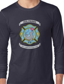 Sea Parks Fire Department Long Sleeve T-Shirt