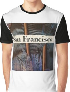 Francisco the Peacock Graphic T-Shirt