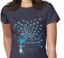 Paisley Peacock Pride and Prejudice: Classic Womens Fitted T-Shirt