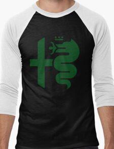 Green Alfa Romeo of Birmingham Men's Baseball ¾ T-Shirt