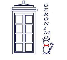 Geronimo! - Doctor Who Photographic Print