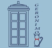 Geronimo! - Doctor Who One Piece - Short Sleeve