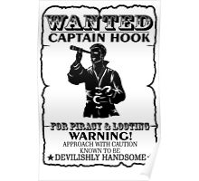 Captain Hook. Wanted. OUAT. Poster
