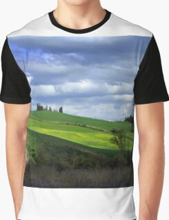 Tuscany landscape Graphic T-Shirt