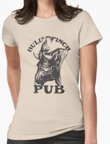 Bull and Finch pub t-shirt – Cheers, Frasier, Vintage/Weathered Womens Fitted T-Shirt