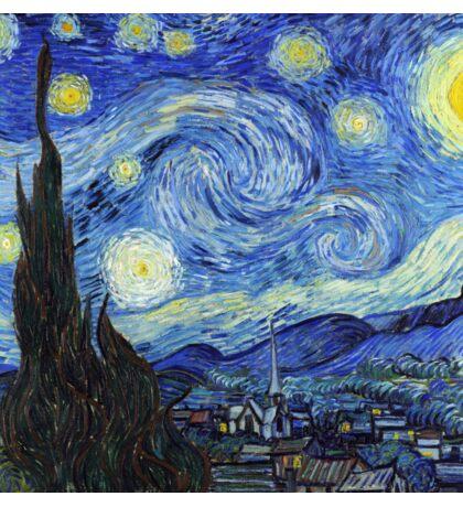 Vincent van Gogh - Starry Night Sticker
