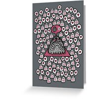 Word of the Spiritual Master is Transcendent Greeting Card
