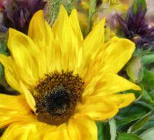 A Jar Of Wildflowers Sticker