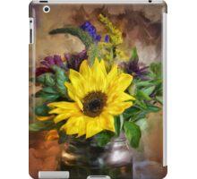A Jar Of Wildflowers iPad Case/Skin
