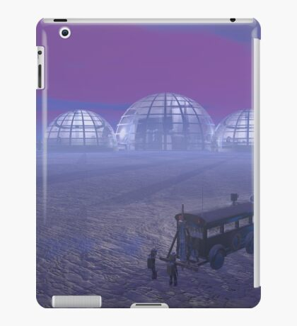 Mineral exploration on an Alien Planet iPad Case/Skin