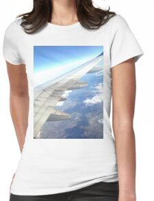 San Francisco Sky Womens Fitted T-Shirt