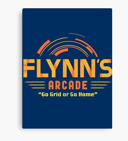 Flynn's Arcade Canvas Print