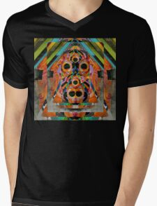 Triangle Jungle Mens V-Neck T-Shirt