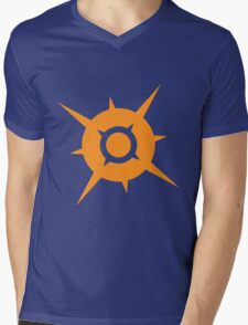 Pokemon Sun Mens V-Neck T-Shirt