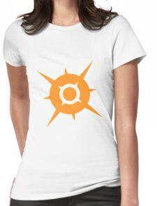 Pokemon Sun Womens Fitted T-Shirt