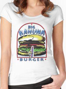 Big Kahuna Burger t-shirt (Pulp Fiction, Tarantino, Bad Motherf**ker) Women's Fitted Scoop T-Shirt