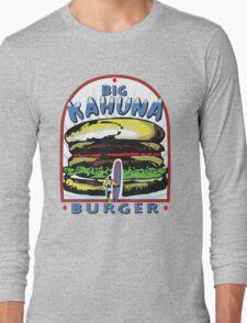 Big Kahuna Burger t-shirt (Pulp Fiction, Tarantino, Bad Motherf**ker) Long Sleeve T-Shirt