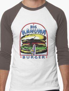 Big Kahuna Burger t-shirt (Pulp Fiction, Tarantino, Bad Motherf**ker) Men's Baseball ¾ T-Shirt
