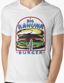 Big Kahuna Burger t-shirt (Pulp Fiction, Tarantino, Bad Motherf**ker) Mens V-Neck T-Shirt
