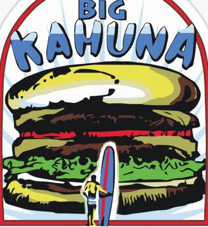 Big Kahuna Burger t-shirt (Pulp Fiction, Tarantino, Bad Motherf**ker) Sticker