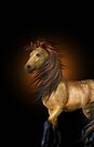 Buckskin Horse .. iphone case by LoneAngel
