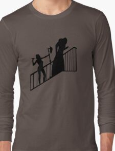 Buffy VS Count Orlok! Long Sleeve T-Shirt