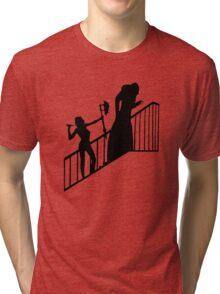 Buffy VS Count Orlok! Tri-blend T-Shirt