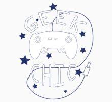 Geek Chic Simplistic One Piece - Short Sleeve