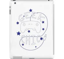 Geek Chic Simplistic iPad Case/Skin