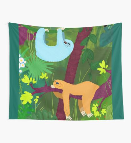 The nap time 2 Wall Tapestry